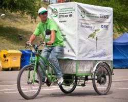 Proiectul Recicleta - Colectarea deseurilor de hartie din birouri