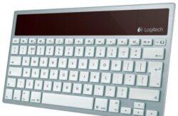 Tastatura cu baterii solare de la Logitech