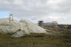 Inca un pas in ecologizarea haldei de fosfogips de la Sofert