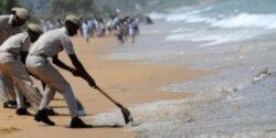 Pata de petrol in Oceanul Indian dupa ce un vas sub pavilion cipriot s-a scufundat in largul coastelor statului Sri Lanka