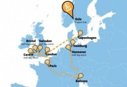 Sapte masini pe hidrogen de la Mercedes-Benz, Honda, Toyota si Hyundai pornesc intr-un tur european