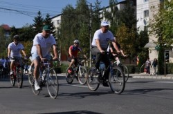 Cluj: Proiectul de distribuire a bicicletelor va fi terminat abia la sfarsitul anului