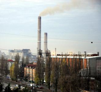 Un cartier din Oradea, poluat de CET