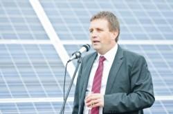Cel mai mare parc fotovoltaic din România a fost inaugurat vineri în localitatea Chirileu