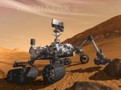 Oamenii de stiinta au identificat urmele unui lac de apa dulce la suprafata planetei Marte