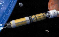 Proiectul unei rachete cu propulsie nucleara pentru calatoria pe Marte