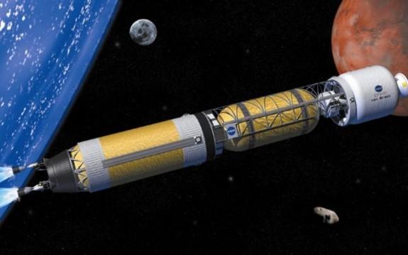 Proiectul unei rachete cu propulsie nuclear? pentru calatoria pe Marte