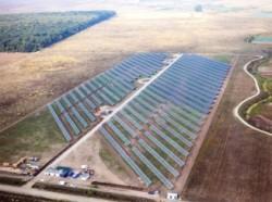 """Cel mai mare parc fotovoltaic de lângă Bucureşti, """"Solen"""", a fost cuplat la reţeaua de electricitate"""