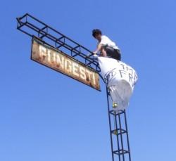 Proteste la -15 grade la Pungesti. Manifestantii promit sa continue saptamana viitoare