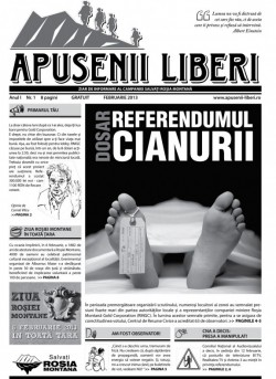 Apusenii Liberi: Transilvania, teren minat