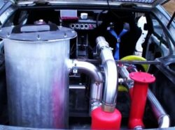In Al Doilea Razboi Mondial, in Anglia circulau 100.000 de masini alimentate cu cafea