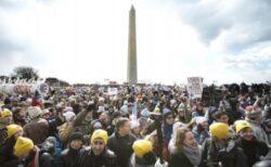 """Zeci de mii de oameni i-au cerut socoteala lui Obama pentru incalzirea globala. """"Este cel mai mare miting din istoria SUA"""""""