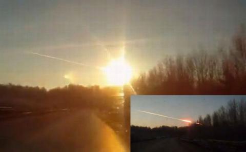 NASA: Explozia meteoritului care a c?zut în Rusia a fost de 30 de ori mai puternic? decât bomba de la Hiroshima