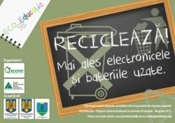 Program de educatie ecologica pentru elevii clujeni