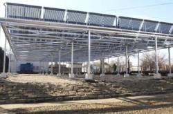 Investitia de 100 de milioane de euro in parcul fotovoltaic din apropiere de Sebis, judetul Arad, este aproape gat