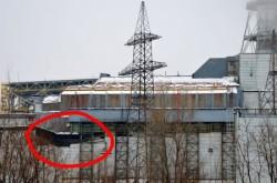 Sarcofagul de beton de la Cernobil a inceput sa se rupa