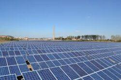 Panouri solare pe terenurile poluate dintre Axente Sever si Copsa Mica