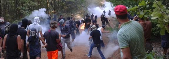 Mineritul in Grecia. Cazul Skouries: de la intimidare la teroare