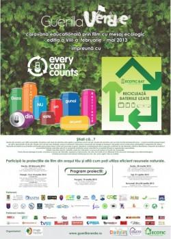 Nu lasa pe maine ce poti recicla chiar azi – caravana Guerilla Verde ajunge si in orasul tau