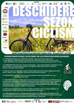 Se deschide sezonul la mersul cu bicicleta