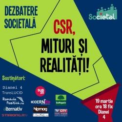 Dezbatere Societal: Limitele CSR-ului!
