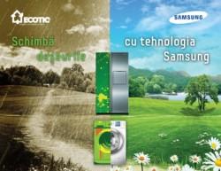 """Debutul noii editii a campaniei """"Schimba deseurile cu tehnologia Samsung"""""""