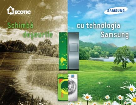 """Debutul noii edi?ii a campaniei """"Schimb? de?eurile cu tehnologia Samsung"""""""