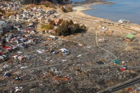 Deseuri maturate de tsunami-ul din Japonia inoata spre SUA