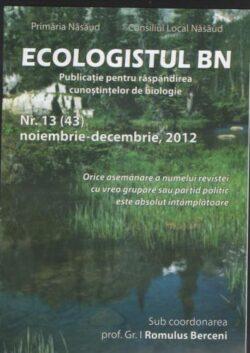 "Revista ""Ecologistul BN"" – la nr. 13"