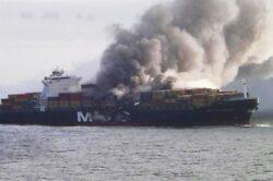 Port-containerul german MSC Flaminia, care transporta substante periculoase, va sosi in Portul Constanta la mijlocul saptamanii viitoare