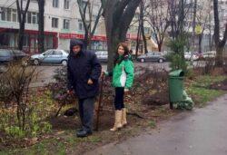 Comisarii Garzii de Mediu au plantat copacei