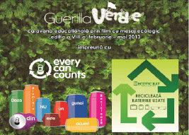 """Caravana filmului ecologic """"Guerilla Verde"""" ajunge, saptamana viitoare, la Ploiesti"""