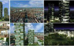 """""""Padurea Verticala"""" din Milano: proiectul inovator care aduce natura in mijlocul orasului"""