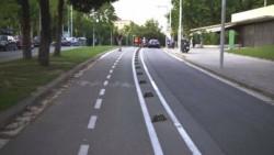 Pista de biciclete peste granita, intre Oradea si orasul vecin din Ungaria