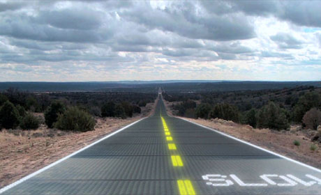 iitorul transportului: drumuri solare ?i ?osele reînc?rcabile