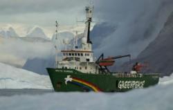 Vasul Greenpeace a ancorat in Portul Constanta cu un mesaj pentru reformarea politicii comune de pescuit