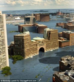 Lumea apelor: Cum vor arata orasele americane daca va creste nivelul marilor