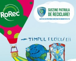 Patrula de reciclare a elevilor gorjeni