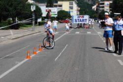 Micii biciclisti se intrec la Deva, Hunedoara si Simeria