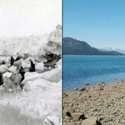 Pamantul, inainte si dupa schimbarile climatice