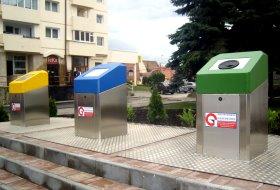 Sistem de colectare subteran pentru deseurile reciclabile, la Medias