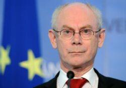 Van Rompuy: Gazul de sist poate deveni parte a mixului energetic pentru unele state UE