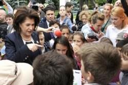 Rovana Plumb a acordat titluri de Ambasadori ai Mediului Curat unor copii supradotati