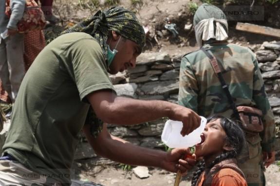 Sute de morti si raniti in India, in urma musonului