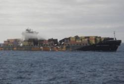 Romania a refuzat 14.000 de tone de deseuri de pe nava Flaminia, bomba toxica din portul Constanta