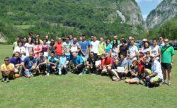 Tinerii Gorjeni participa la activitati de Eco Turism