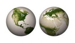 Imagini extraordinare din satelit: Pamantul, planeta verde