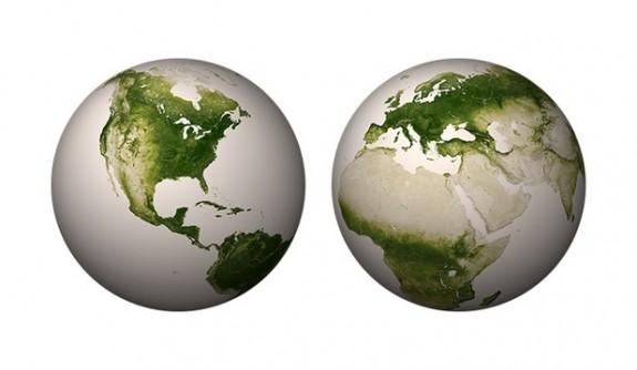 Imagini extraordinare din satelit: P?mântul, planeta verde