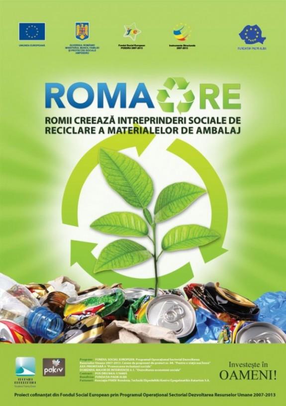 Romii creaz? Întreprinderi Sociale de Reciclare a Materialelor de Ambalaj