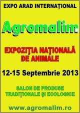 AGROMALIM 2013 – targul agricultorilor destepti